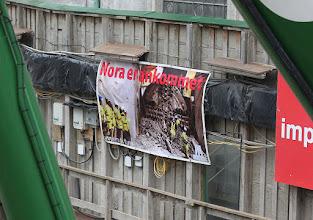 Photo: Anledningen til at komme på besøg var at Nora kom for et par uger siden nordfra og i det skete i nederste spor.