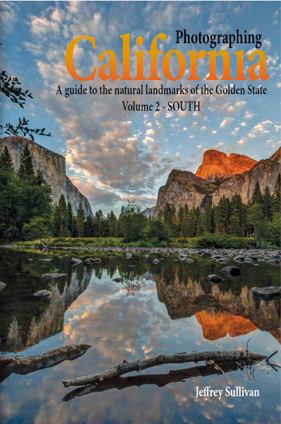 """Photo: Yosemite Valley photo on the title page of my new guidebook, """"Photographing California Vol. 2 - South"""", which includes coverage of Yosemite National Park."""