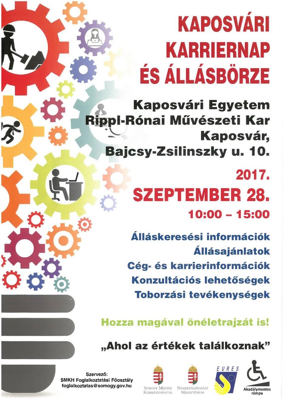 Állásbörze Kaposvár 2017