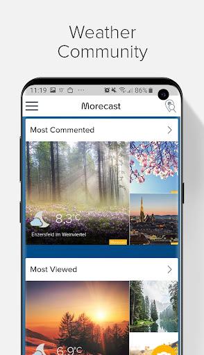Weather Forecast, Radar & Widget - Morecast 4.0.27 Screenshots 5