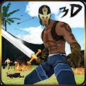 Samurai Warrior Assassin 3D icon