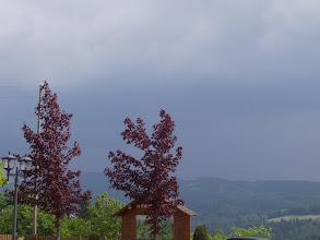 Photo: das Wetter begleitet uns ohne zu treffen