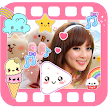 Kawaii Video Editor with Cute Stickers for Photos APK