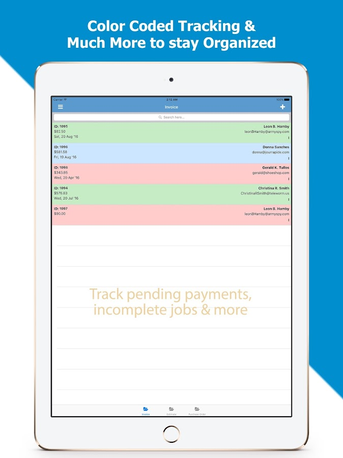 Invoice Pdf Free - Professional Invoicing - Android Apps On Google