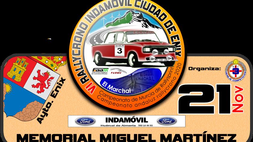 6º Rallycrono Indamóvil Ciudad de Enix.