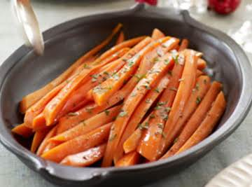 Glaze My Glazed Carrots