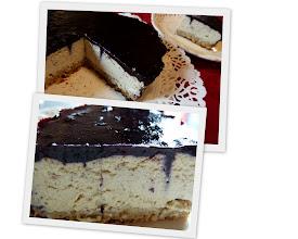 Photo: Adoración y su tarta de Queso sin queso
