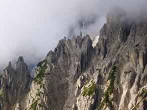 Photo: I dirupi settentrionali delle Ciampedele