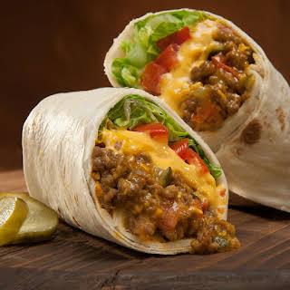 Cheeseburger Burritos.