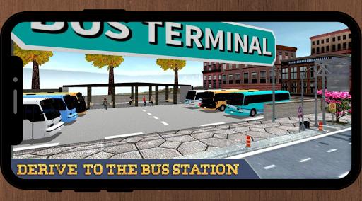 Bus Driving Game: Passenger Transport Simulator 1.1 screenshots 1