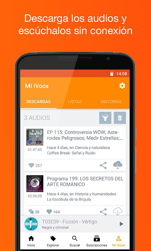 Podcast & Radio iVoox - Google Play Store revenue & download ...