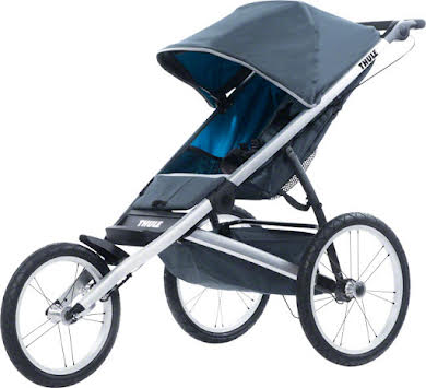 Thule Glide 1 Single Child Stroller: Dark Shadow