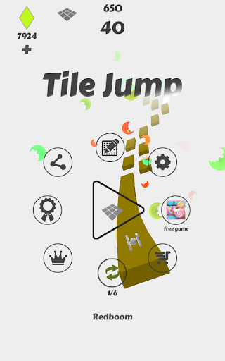 タイルジャンプ - Tile Jump