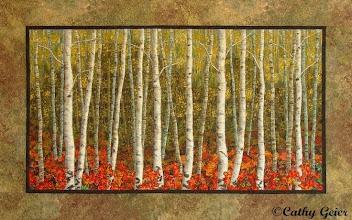 Photo: Birches