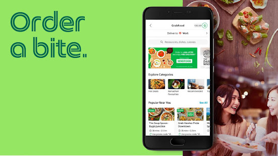 App Grab - Transport, Food Delivery, Payments APK for Windows Phone