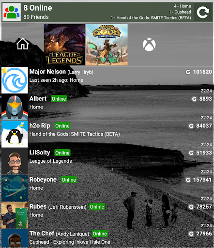 Screenshot for My Xbox Live Friends in Hong Kong Play Store