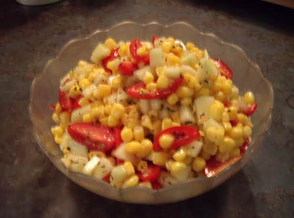 Ciao Bella Cucumber Tomato And Corn Salad