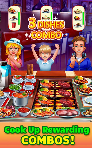 Cooking Craze: Crazy, Fast Restaurant Kitchen Game 1.43.0 screenshots 2