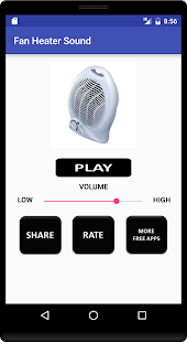 Download Fan Heater Sound For PC Windows and Mac apk screenshot 1
