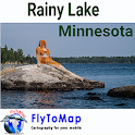 Rainy Lake Gps map navigator