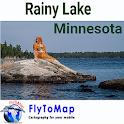 Rainy Lake Gps map navigator icon