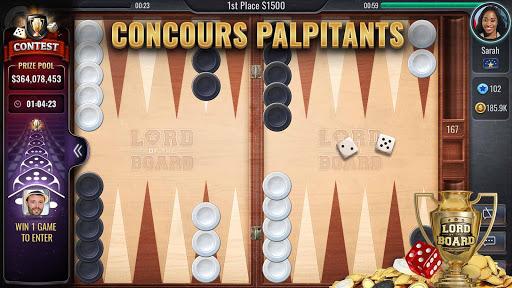 Backgammon - Lord of the Board  captures d'u00e9cran 2