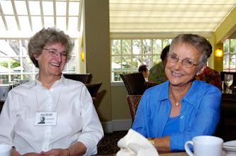 Photo: Susie Cumins Newell and Jean Golisch Clark