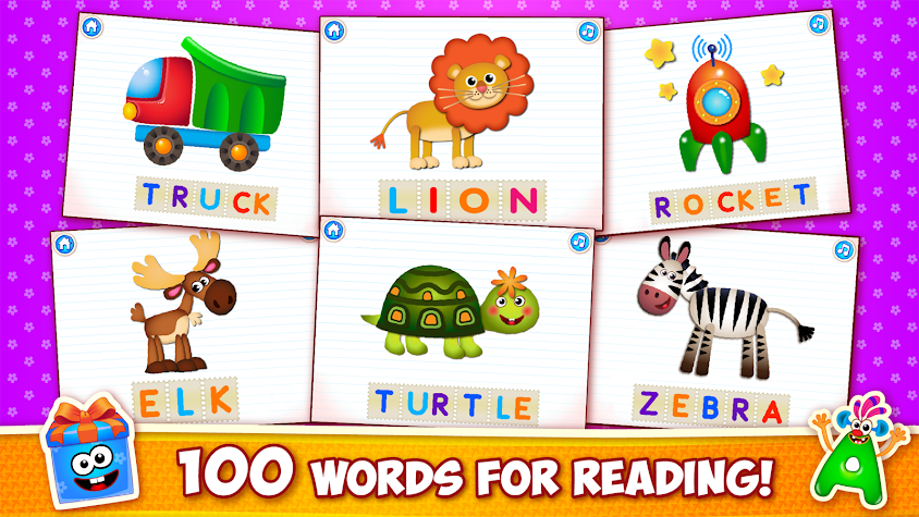 Baby ABC in box! Kids alphabet games for toddlers Screenshot