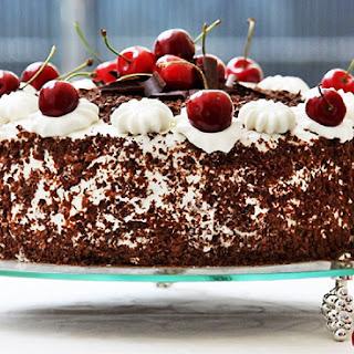 Black Forest Cake – Schwarzwälder Kirschtorte.