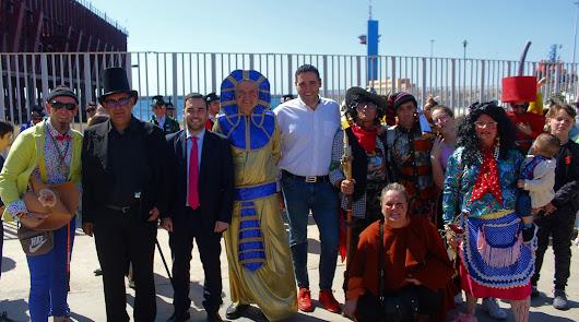 Adiós al Carnaval 2019 con la 'Quema de la Sardina'