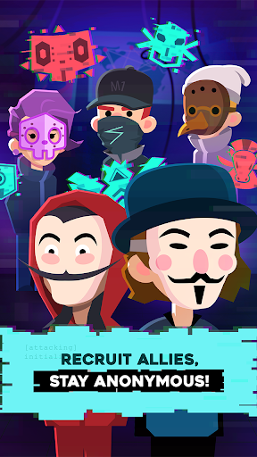 Hacking Hero - Cyber Adventure Clicker 1.0.3 screenshots 3