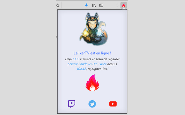 Extension IkerTV