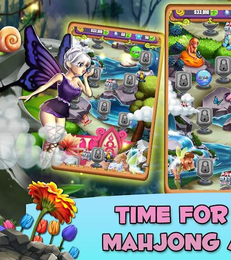 Mahjong Magic Lands: Fairy King's Quest apktram screenshots 15