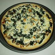 Spinach & Feta Cheese Manakeesh