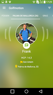 Golfmotion App – Miniaturansicht des Screenshots