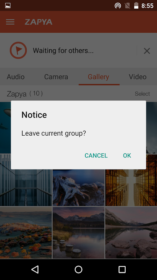 Zapya (Sharing, File Transfer) - screenshot