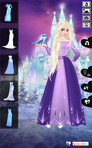 Icy or Fire dress up game - Frozen Land 2.4 screenshots 2