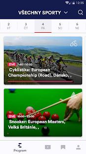 Eurosport Player - náhled
