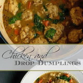 Chicken and Drop Dumplings.