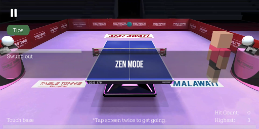 Table Tennis ReCrafted! android2mod screenshots 18