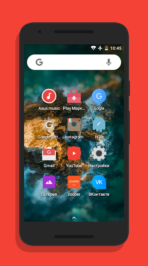 H2O UI - Icon Pack- screenshot
