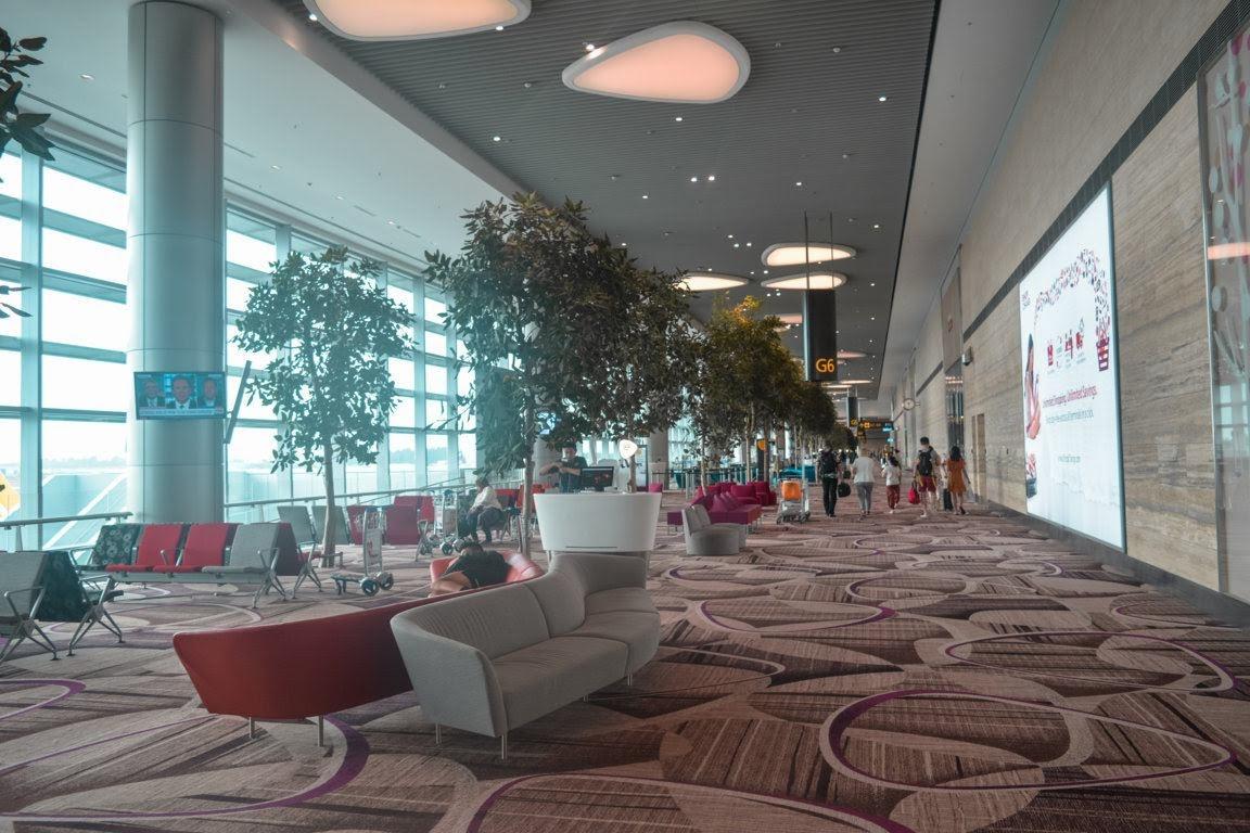 Gate Terminal 4 Changi