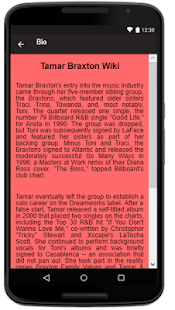 Tamar Braxton Songs+Lyrics - náhled