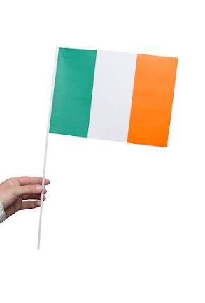 Pappersflagga, Irland