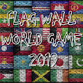 FLAG WALL WORLD GAME 2019