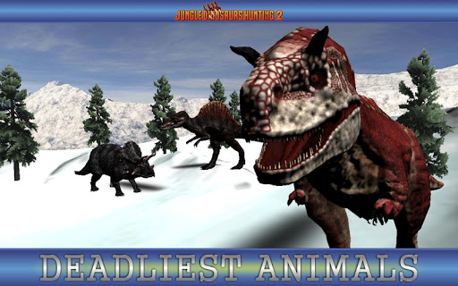 Jungle Dinosaurs Hunting 2- Dino hunting adventure  {cheat|hack|gameplay|apk mod|resources generator} 2