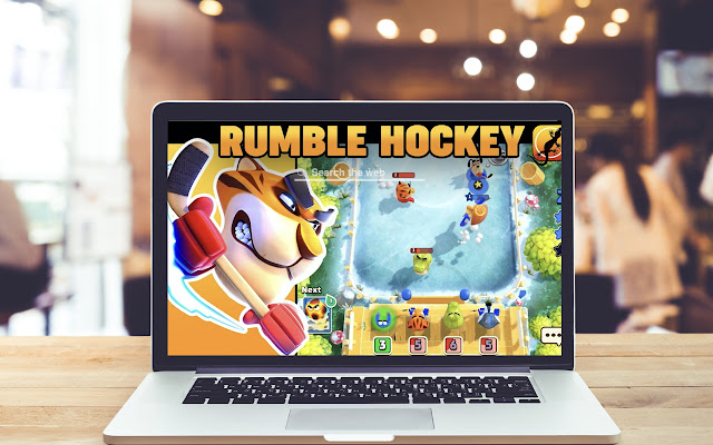 Rumble Hockey HD Wallpapers Game Theme