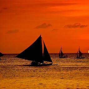 Borocay by Felix Hug - Landscapes Sunsets & Sunrises ( silhouette )