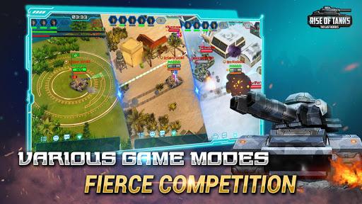 Code Triche Rise of Tanks - 5v5 Online Tank Battle APK MOD screenshots 3