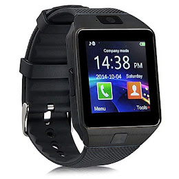 Ceas Bluetooth metalic Smartwatch DZ09 - limba romana